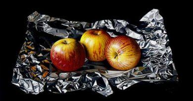 La pintura de los días por Demetrio Reigada: Hoy la increíble obra de Carlos Rivero, joya del hiperrealismo