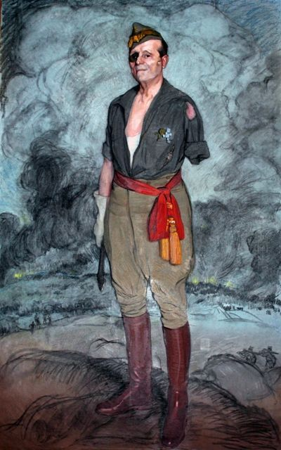 Ignacio Zuloaga, Retrato de José Millán Astray (1942) Museo de la Legión de Ceuta