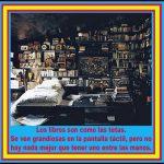 Los libros son como las tetas. Los envíos desde Brasil del gran Mariano