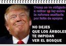 Los hilos de Luis del Pino. Trump sale victorioso en la retirada de la reforma sanitaria al Obamacare