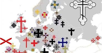 En la Europa cristiana cada nación luce con orgullo su propia cruz. Por José Crespo