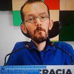 Sois lo más asqueroso que repta por esta bendita tierra española, señor Echenique, secretario de organización de Podemos