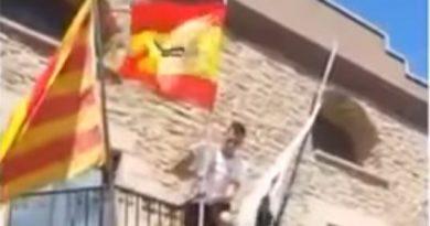 En España sí hay presos políticos. Raúl Macià Pastor, en prisión por izar la Bandera Nacional en el ayuntamiento de su pueblo, Balsareny