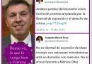 Joaquim Bosch Grau, gurú de Cuatro condena el 'acoso fascista a Mónica Oltra' y olvida su apoyo a los escraches