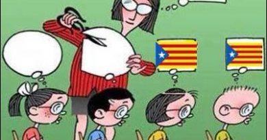 Del miedo en las aulas del sistema educativo de los ideólogos separatistas catalanes. Por Discover & Share