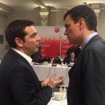 Hace solo tres años y parece olvidada la petición de Sánchez a Tsipras. Entre el ser y el querer ser, vergüenza ajena. Por Manuel Artero