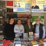 José Antonio Crespo-Francés en la Feria del Libro de Madrid: Españoles olvidados de Norteamérica