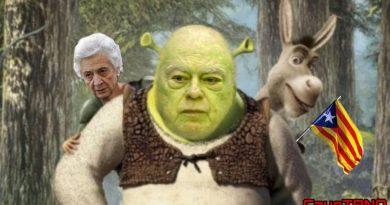 (XXIX) De la insoportable vecindad: La ciénaga que Jordi Pujol y sus convergentes robaron a Shrek se llama República catalana. Por Manuel Artero