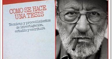 Todo está en los libros: El maestro Umberto Eco y la tesis de Sánchez. Por Rafael Gómez de Marcos