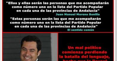 Luego, el PP se pregunta por qué lleva 40 años sin gobernar en Andalucía. Por Rafael Gómez de Marcos