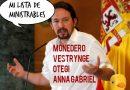 Dicen que el Pavo Iglesias se rindió. Por Linda Galmor y Guirong Fu