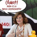 Vaya, la Calvo, esa persona normal y corriente, ya se ha enterado