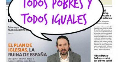 Silenciemos ya la gran mentira populista de Iglesias sobre el rescate a la banca. Por Ana Castells