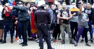 Nos volveremos a pegar: La hez del frente popular que nos gobierna sale a la calle para violentar. Por Manuel Artero