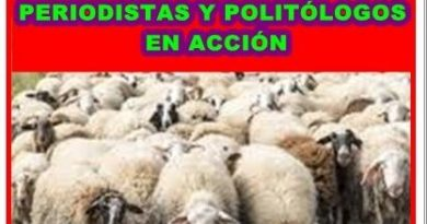 Los falsos periodistas y vendidos politólogos en acción tras las elecciones autonómicas. Por Rafael Gómez de Marcos