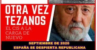 En septiembre según el CIS de Tezanos, usted se despertará republicano. Por Rafael Gómez de Marcos