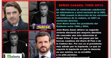 Señor Casado, tome nota. Por Rafael Gómez de Marcos