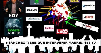 Hoy en La Sexta Noche: Intervenir Madrid porque te quiero. Por Rafael Gómez de Marcos