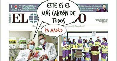 La Portada de Linda Galmor: Sánchez supervisa personalmente la evolución de la pandemia