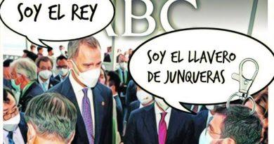 La Portada de Linda Galmor: Corre Pera, que llega el ciudadano Borbón