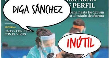 La Portada de Linda Galmor: Indultos, mascarillas y crisis de gobierno para que Peter siga en Palacio