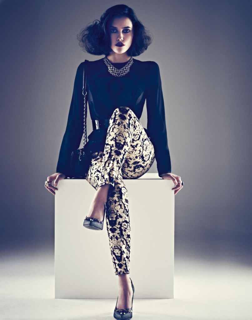 Hair by Jonothon Malone for Marks & Spencer