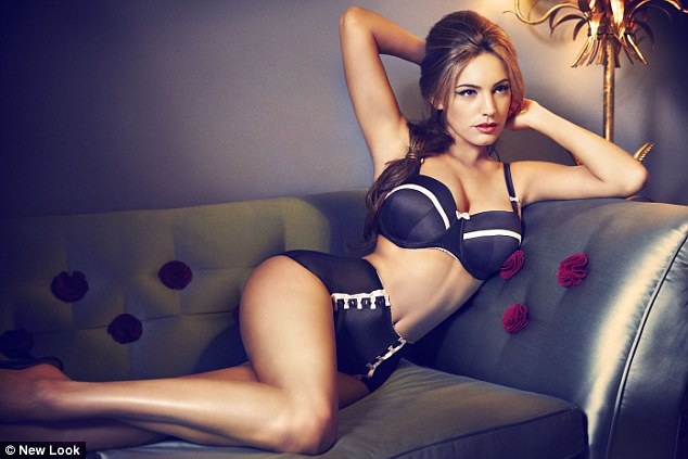 Kelly Brook for New Look - Make-up by Ginni Bogado / Hair by Jonothon Malone