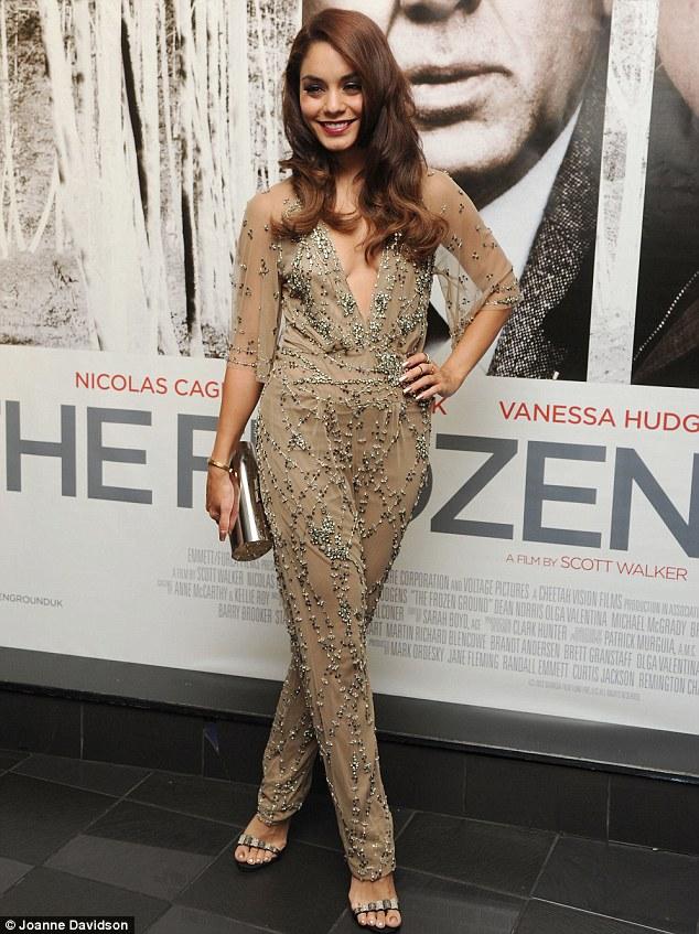 Vanessa Hudgens - Frozen Ground Premiere - Carlos Ferraz