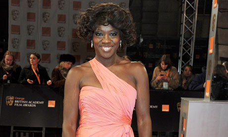 Viola Davis - BAFTA Awards 2012 - Make-up by Ginni Bogado / Hair by Jonothon Malone