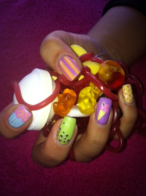 Candy Nails by Jenni Draper, Nail Technician