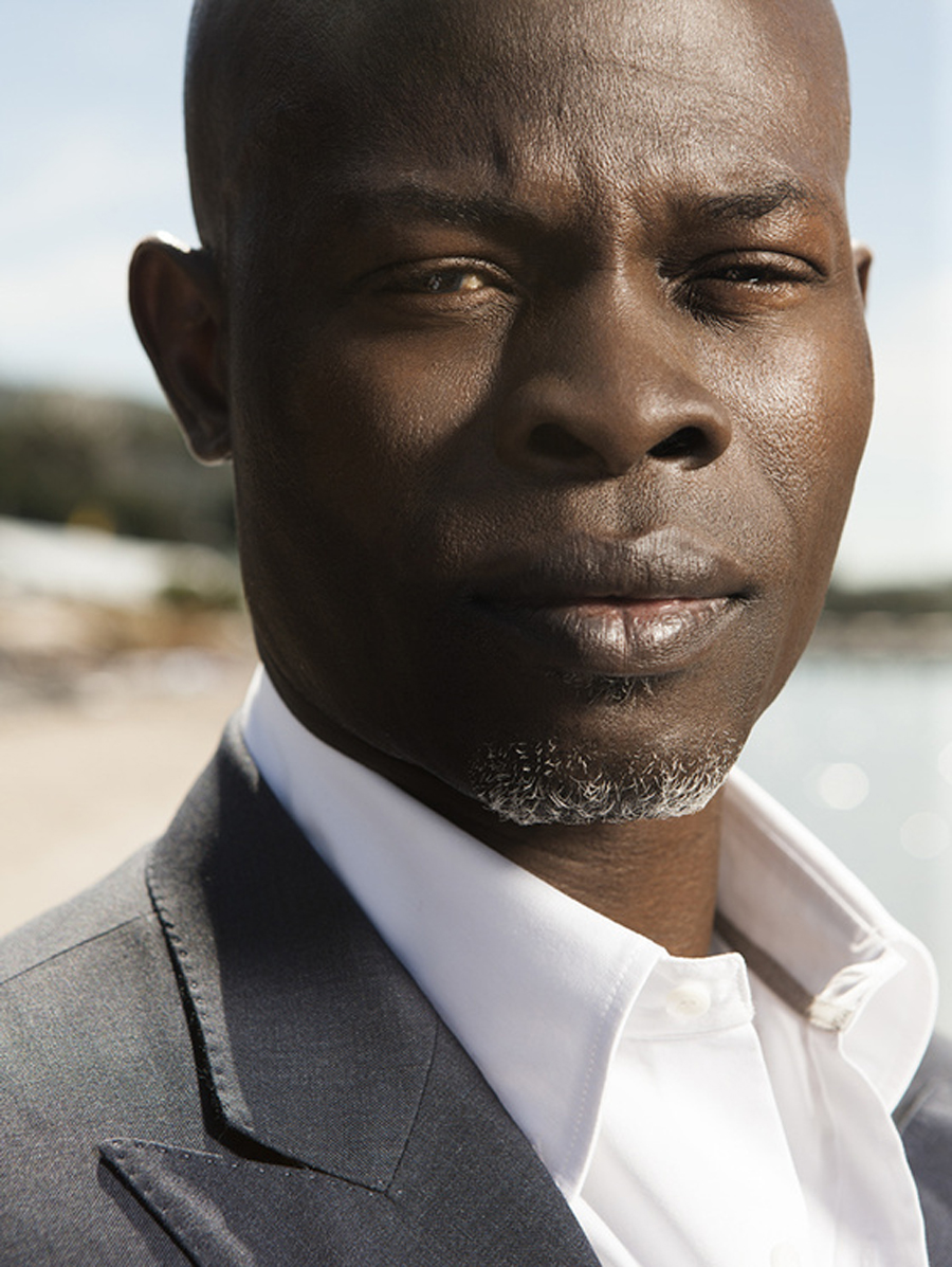 djimon hounsou martial arts