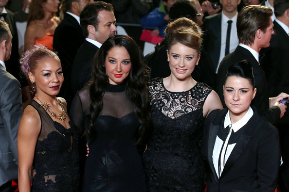 X Factor Contestants make a red carpet appearance at London Skyfall Premiere