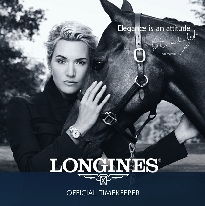 Kate Winslet for Longines - Styled by Cheryl Konteh