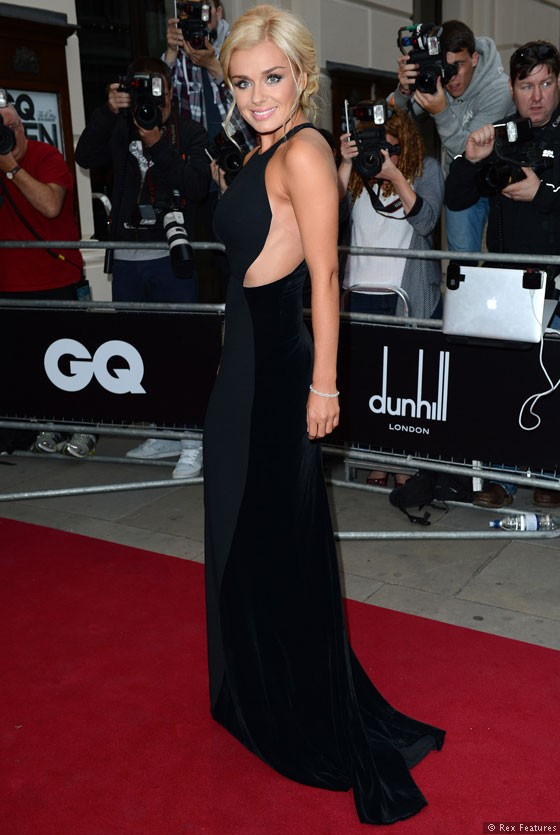 Katherine Jenkins styled by Cheryl Konteh - GQ Awards