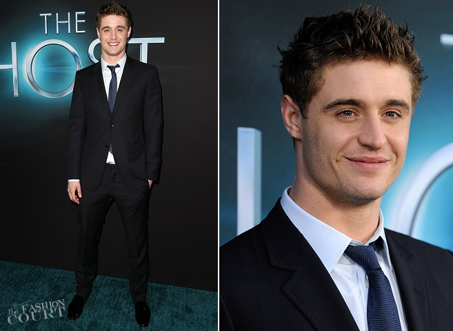 Max Irons - The Host premiere - Styled by Cheryl Konteh