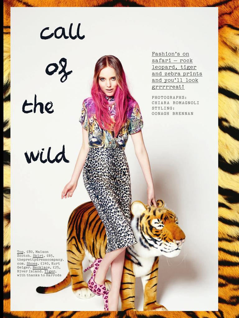 Hair by Craig Marsden  / Photography by Chiara Romagnoli for Company Magazine