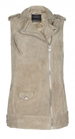 Sleeveless Biker - All Saints