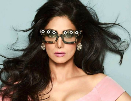 Hair by Matthew Wade for Sridevi Kapoor