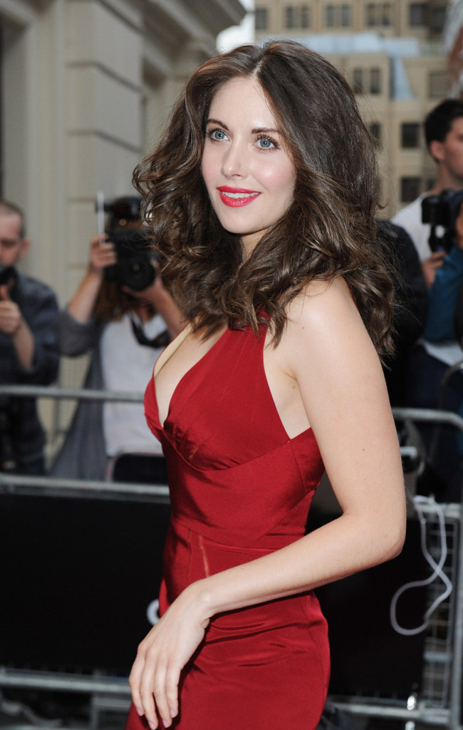 Alison Brie from Mad Men at the GQ Awards - Hair by Jonothon Malone - Makeup by Julia Carta