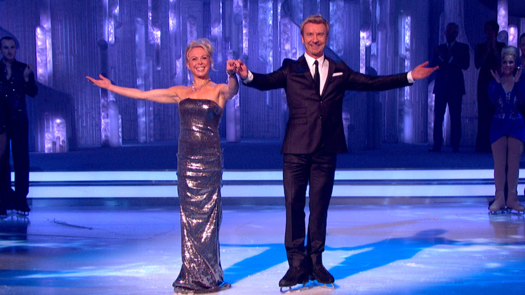Torvill and Dean - Dancing on Ice 2012 - Styling by Sarah Nash