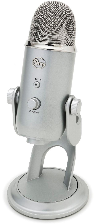 blue microphones Микрофон Blue Microphones Yeti (Silver)