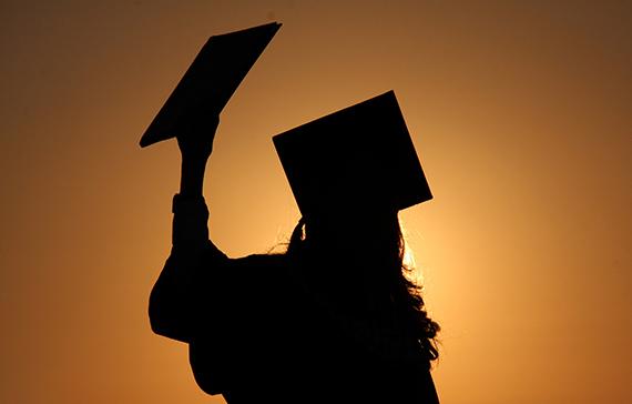 Graduate-silhouette