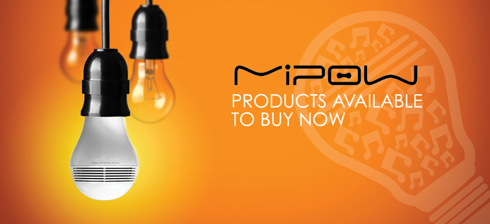 MIPOW products now available