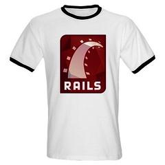 Ruby on Rails Ringer T-Shirt