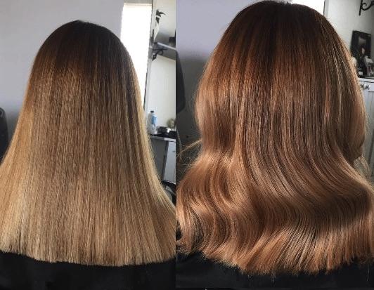 Taglio capelli lunghi dritti