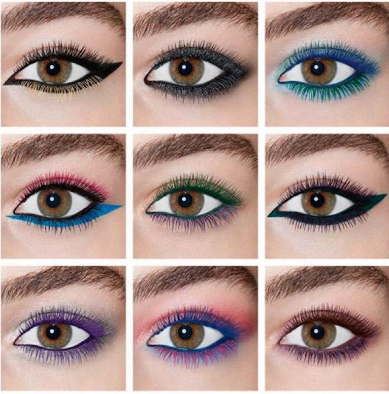 Preferenza Sopracciglia Benefit e mascara colorati vinyl couture YSL FV09
