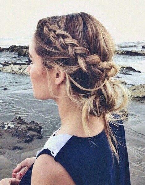 Pettinature capelli medi tumblr