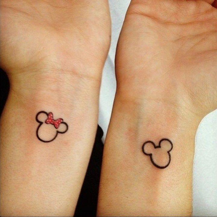 Famoso Tatuaggi di coppia per innamorati, amiche e sorelle YO06