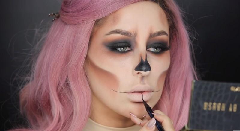 Popolare 6 migliori make-up halloween facili! CY79