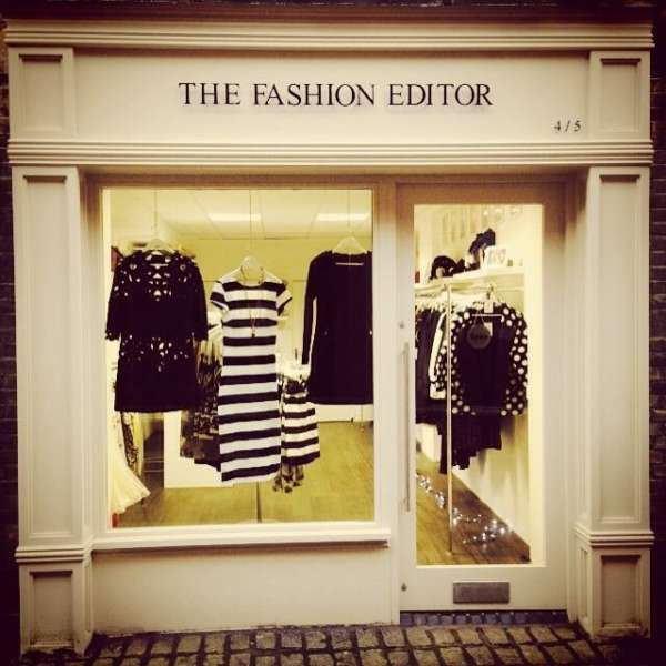 Shop front image of The Fashion Editor